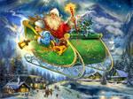 Santa's way by Fantasy-fairy-angel