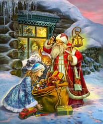 Christmas gift-bringers