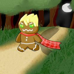 Gingerbread Man by SuperMooshroom