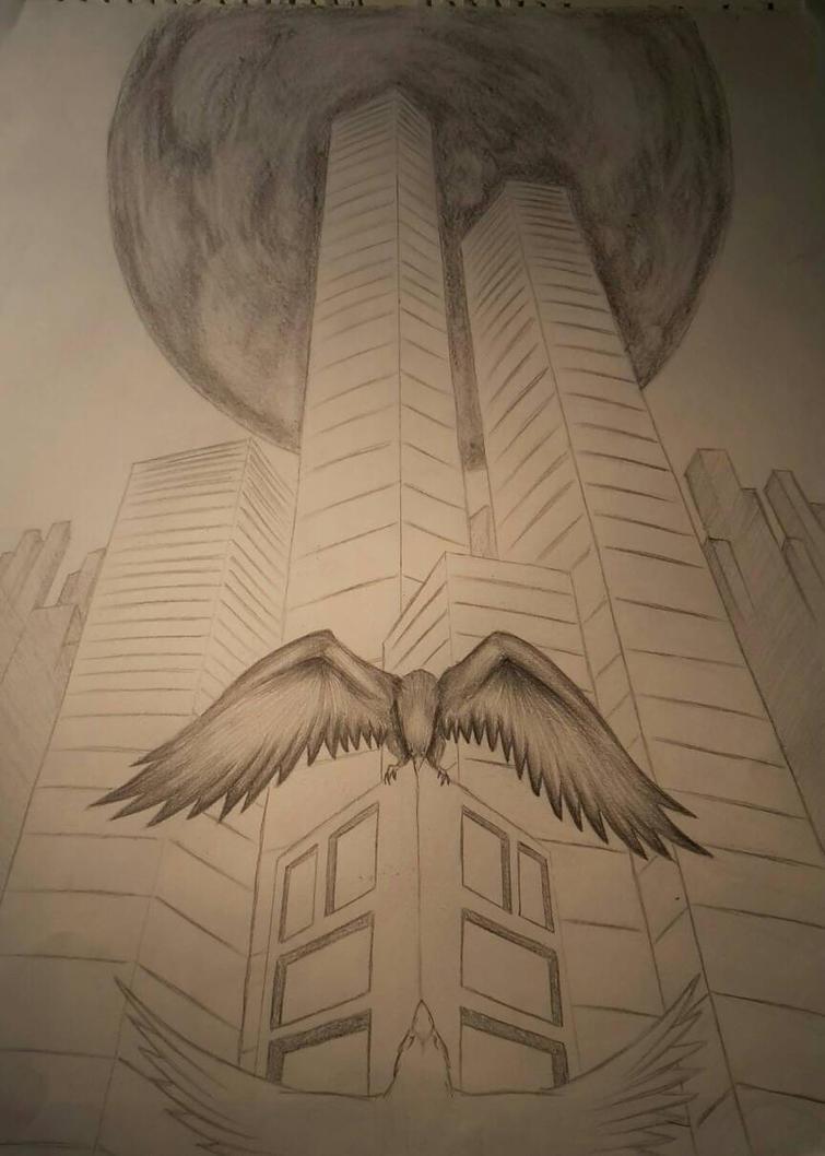High above  by AurorynDragon