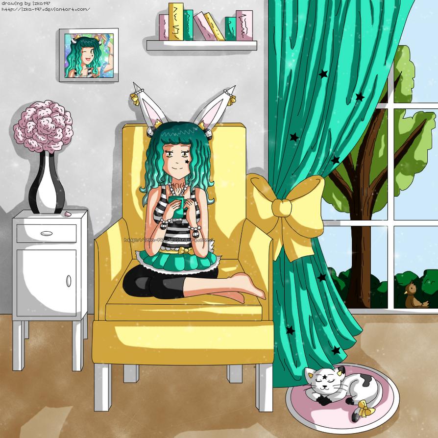 Amelia: Relax Time by izka-197