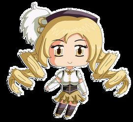 Madoka Magica: Chibi Mami Tomoe by izka-197