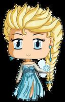 Frozen: Chibi Snow Queen Elsa by izka-197