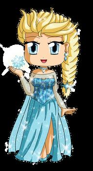 Frozen: Chibi Snow Queen Elsa 2