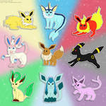 Pokemon: Eeveelution love