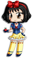 Disney Chibi: Snow White by izka-197
