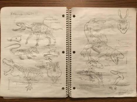 Xenosuchosauria Sketches Pt III
