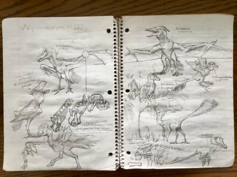 Wyvonoptera Sketches Pt III