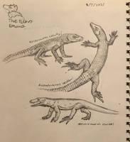 Varanopid Sketches