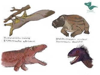 Triassic Sketches 1