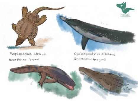 Triassic Sketches 2