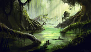 The swamp by e-humbert