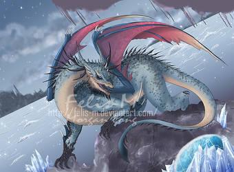 Storm Dragon by Felis-M