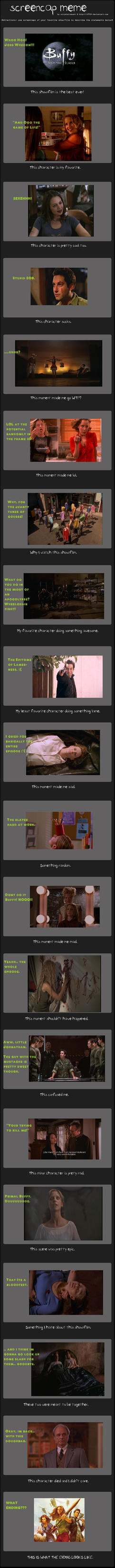 Buffy Screencap Meme by BloodyAwfulLips