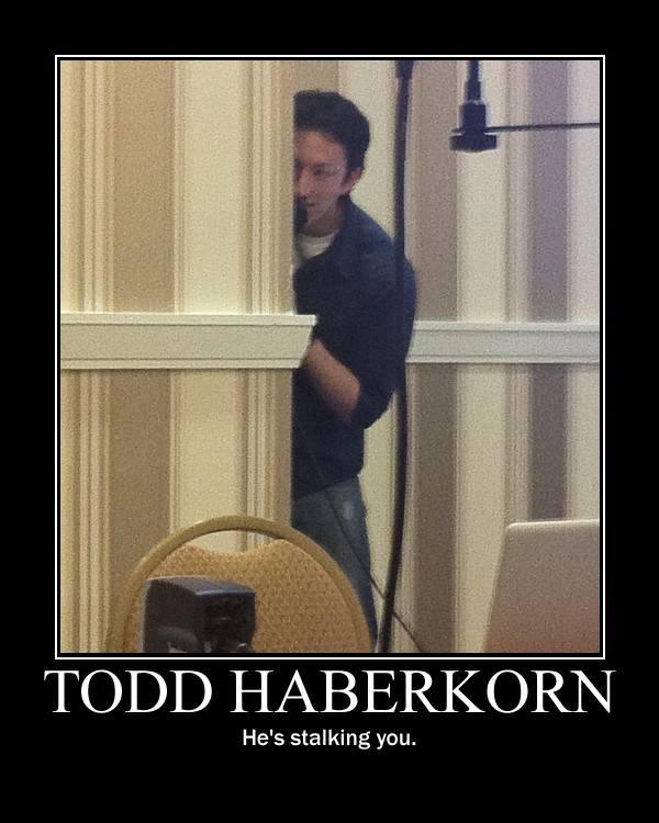 Todd Haberkorn is a stalker by otakuwannabeTodd Haberkorn Son
