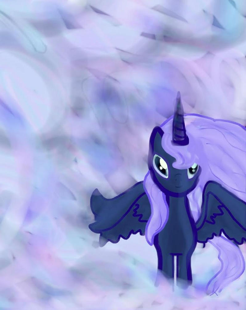 Luna in a Stratus by Yonderness