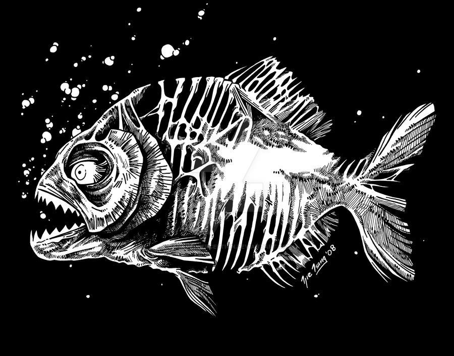 Zombie Piranha By Cadaverperception On Deviantart