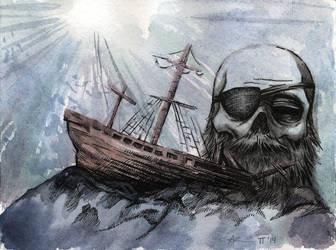 shipwreck by cadaverperception