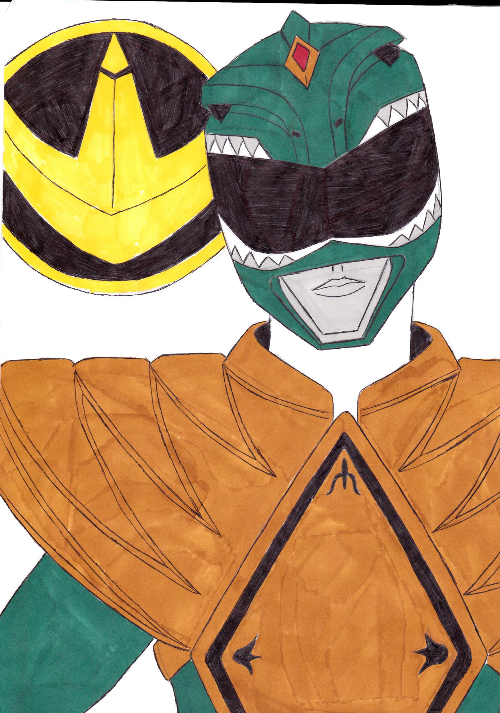Power Rangers Green Time Travel Dino Thunder Fanficti
