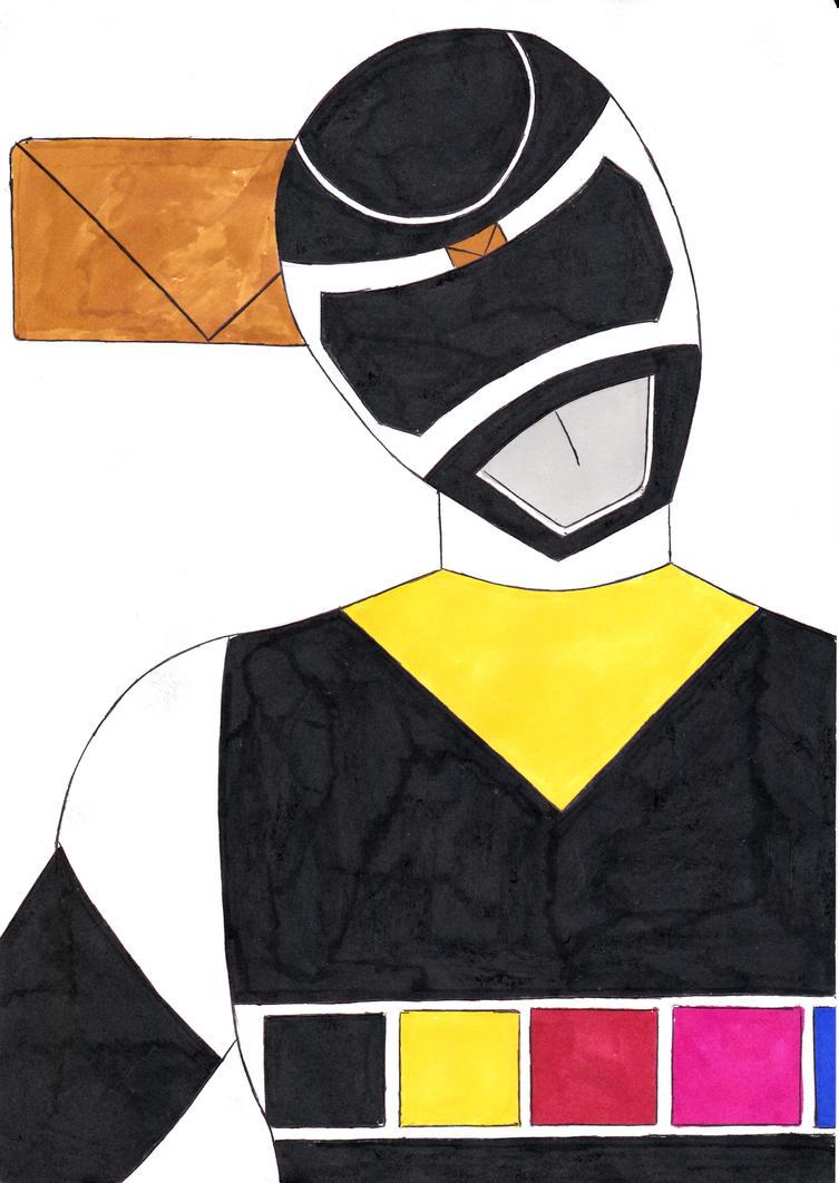 Power Rangers In Space Black Ranger Ver. 1 by ...