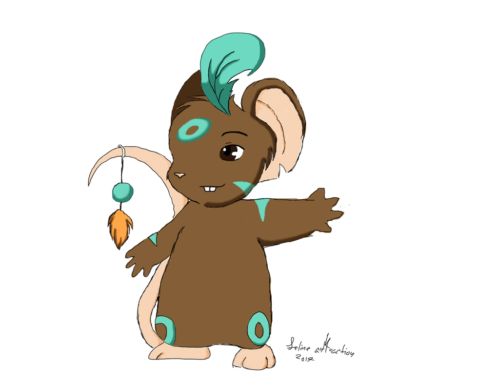 Shaman Transformice fanart by felineattraction