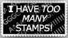 Too Many Stamps?