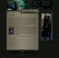 Game website design by scareddragonstudio