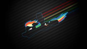 Fastest Mare Alive - Rainbow Dash Wallpaper