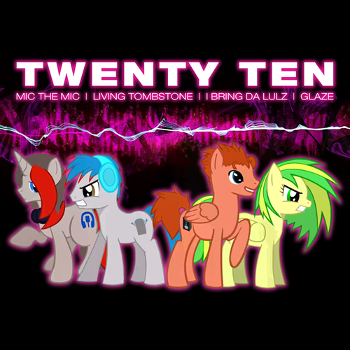 We Are Twenty Ten - album art by smokeybacon