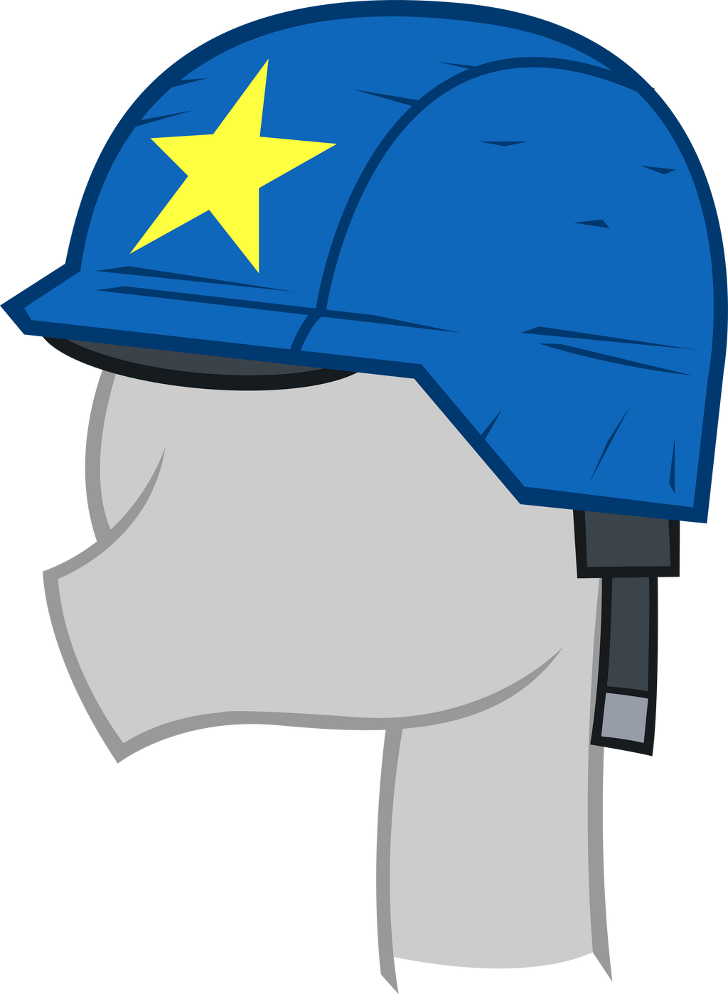 Vector | Cheese Sandwhich's Helmet by smokeybacon