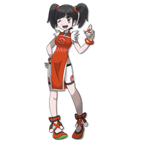 Ling Xiaoyu as a Pokemon Trainer by eMCee82