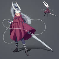 Hornet From Hollow Knight Humanized Fanart