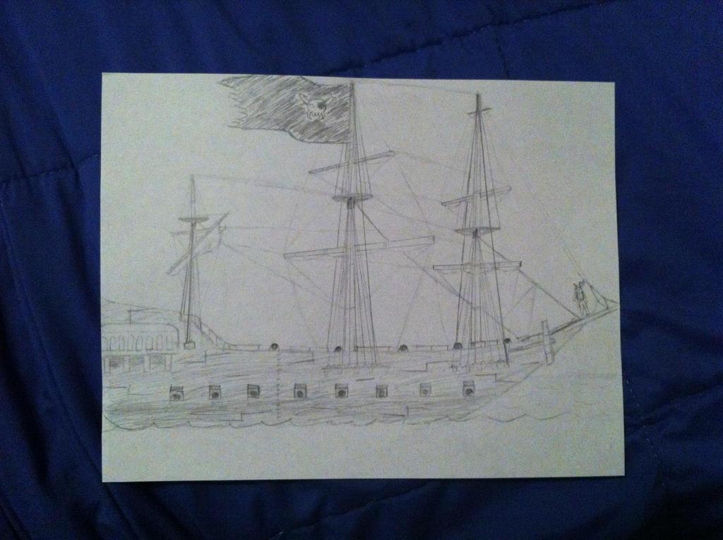 Vriska's Pirate Ship by QuicksilverBullets