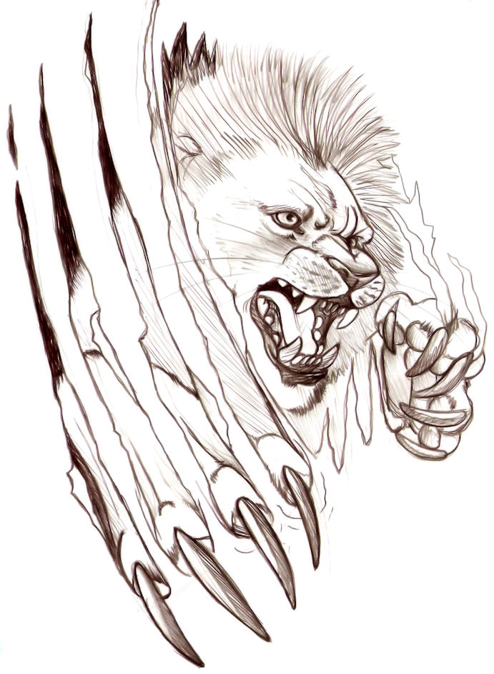 49f38195cc1ea lion tattoo design. by CheshireSmile on DeviantArt