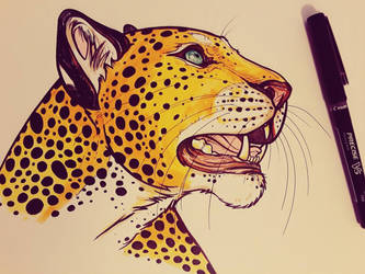 .Leopard Ink. by CheshireSmile