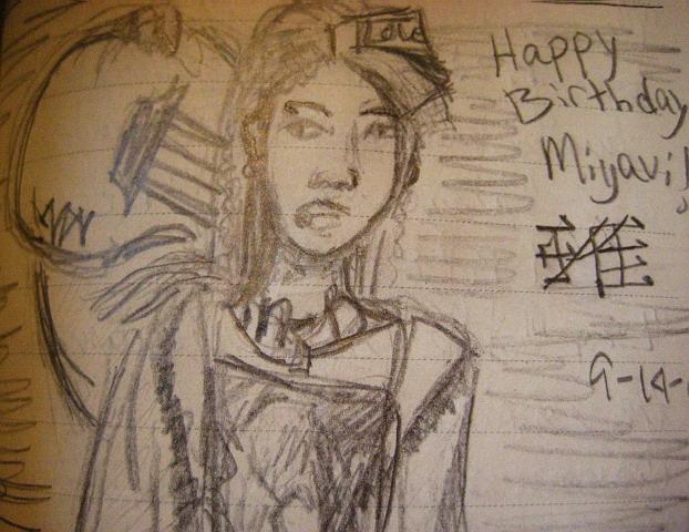 Miyavi birthday wishes by retrobishojo