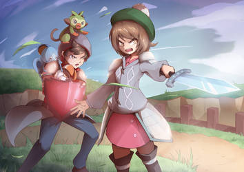 Pokemon SS Trainers by TransFlame
