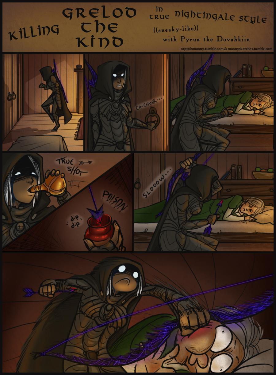 Killing Grelod the Kind by CaptainMoony