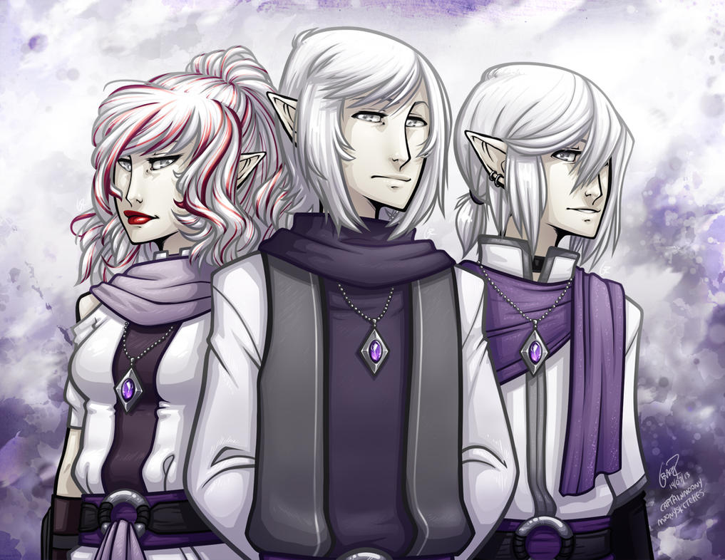 The en'Litse Siblings by CaptainMoony