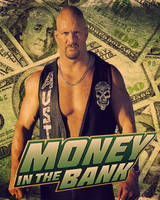 Money In The Bank FanMade Poster by MardeusGraphics
