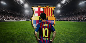 Lionel Messi Wallpaper by MardeusGraphics
