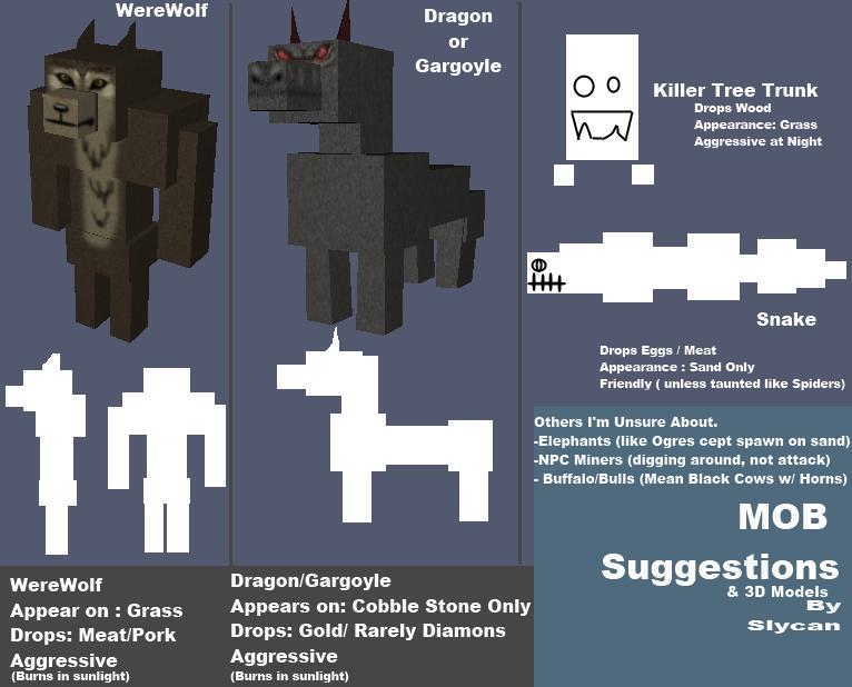 Minecraft Werewolf Wallpaper