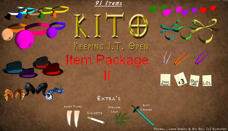 item - 133 New Items Total:: 91 New Items - KITO Item Package I I  Kito__91_items_package_ii_download_by_some_art-d52hc93