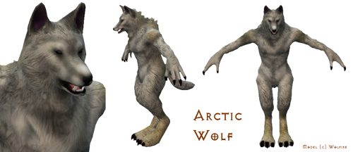 OverGrowth - Arctic Wolf