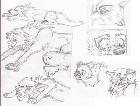 Calm Before the Storm Remake Sketches 1