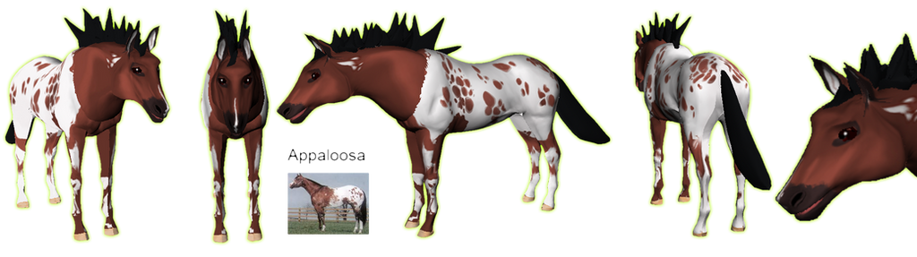 Preset for KITO Horse Body Parts by Some-Art
