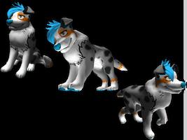 3D IT Pet Commission for xxthewolfloverxx