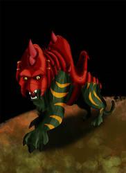 Battle Cat by DragonScreamer