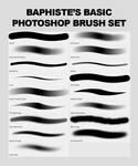 Baphiste's Basic Photoshop Brush Set