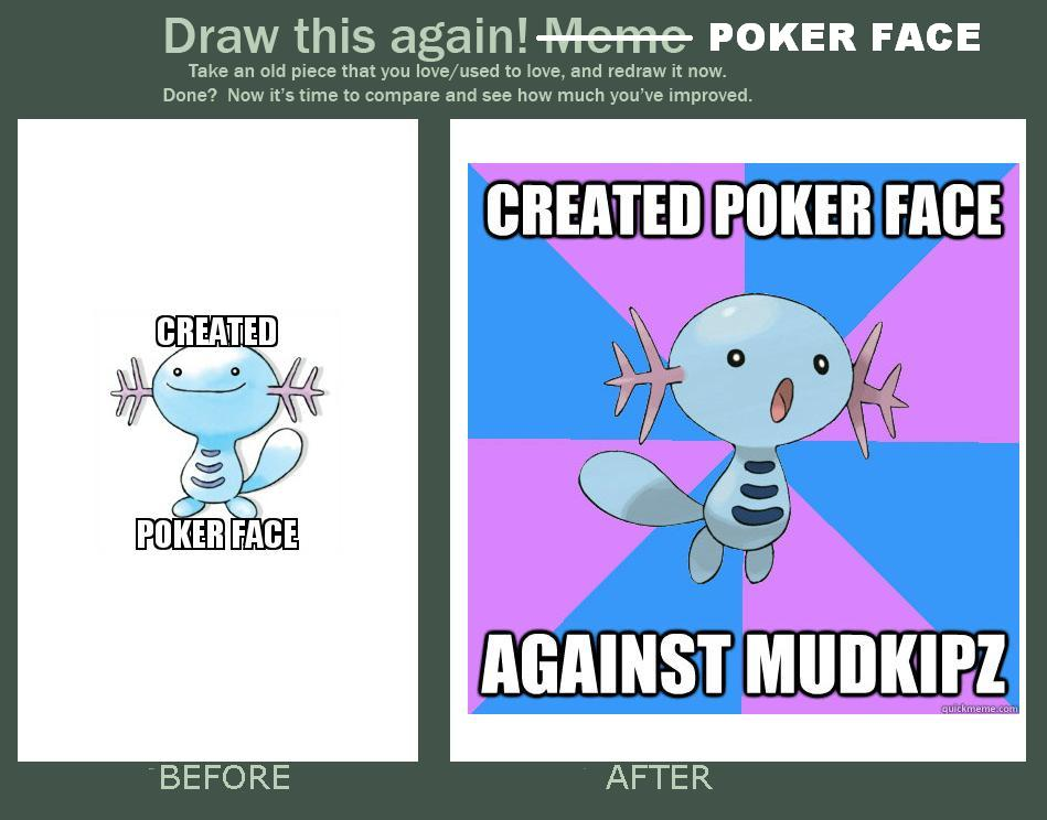 Wooper Poker Face Revisions